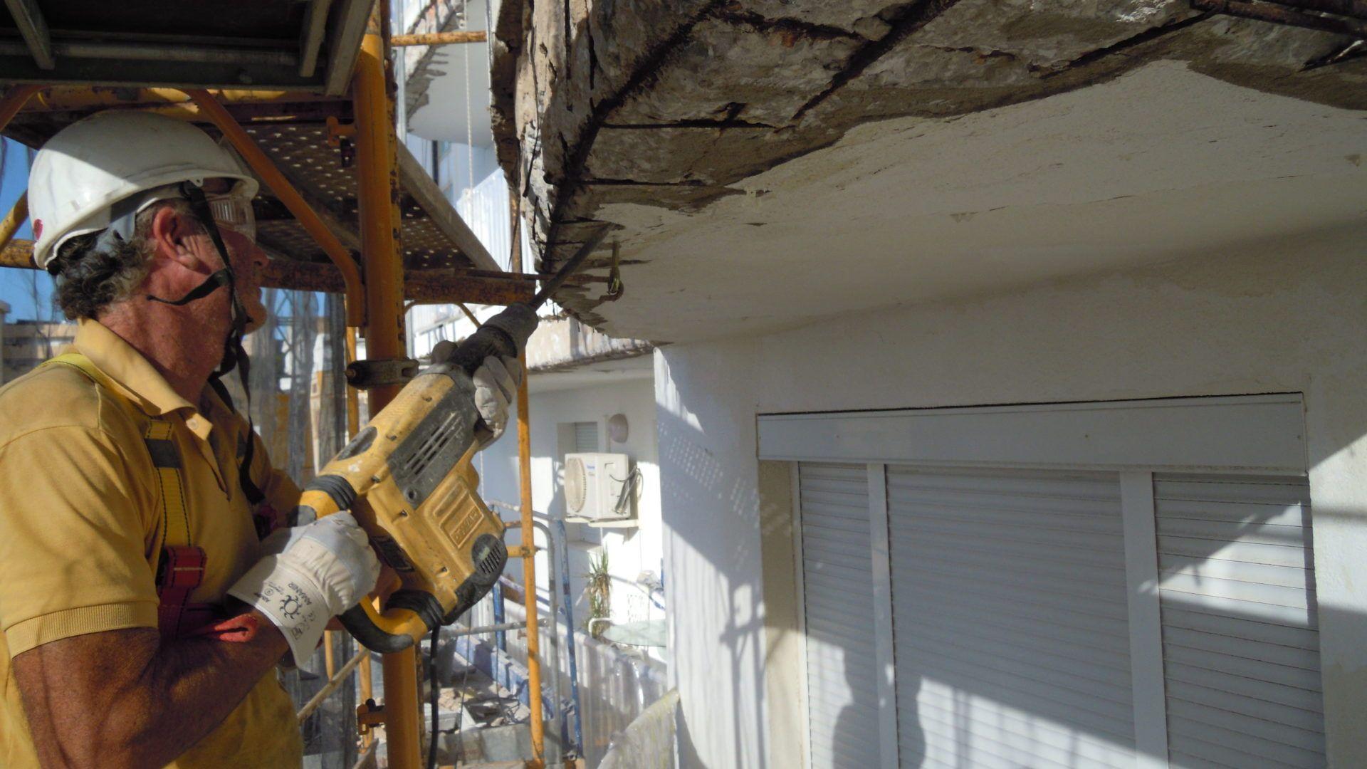 3. Reestructuración del Hormigón y Refuerzos Estructurales