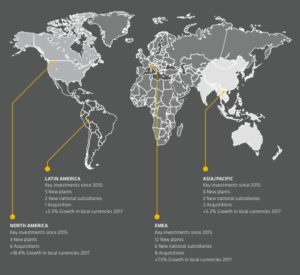 Mapa de Crecimiento de SIKA