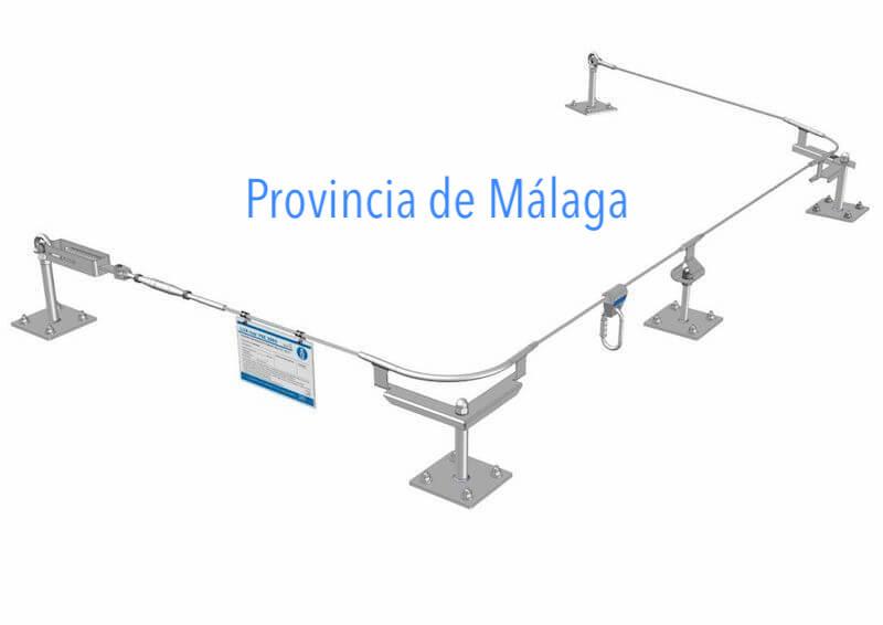 Montaje Líneas de Vida en Málaga